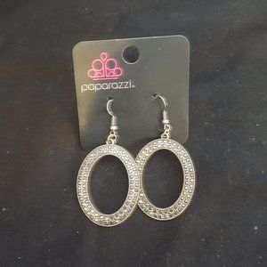Paparazzi Gunmetal Fish Hook Earrings